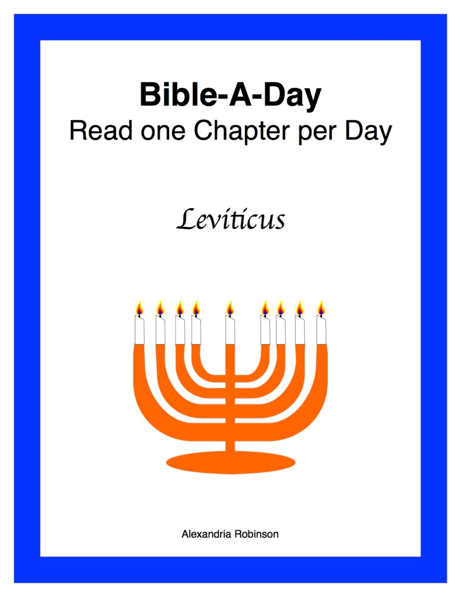 a study of leviticus Leviticus bible study attached is a bible study for the book of leviticus it is an in-depth outline for 12 sessions that cover the entire book and include an.