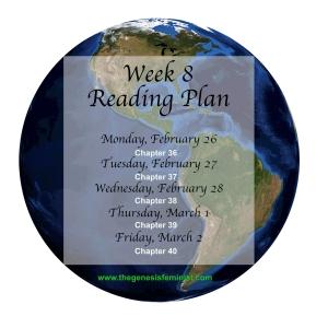 reading plan 8