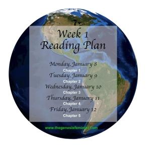 week 1 rading plan